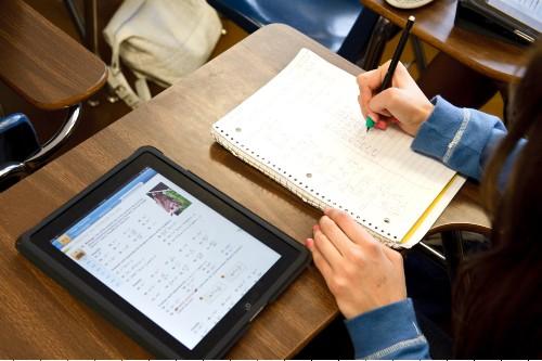 Studeren met de iPad op campus Rozenberg